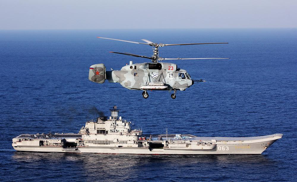 俄航空母舰将延长服役 维修费用至少650亿卢布