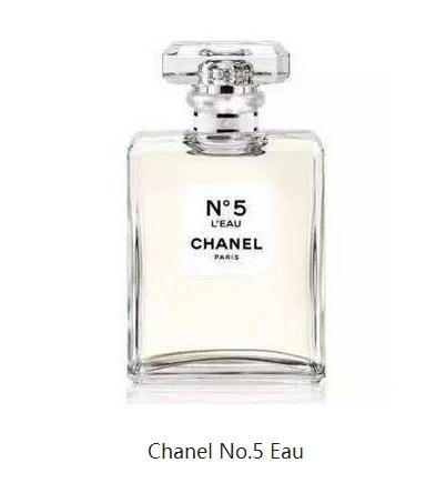 Chanel No.5 Eau果香与花香融和得恰到好处