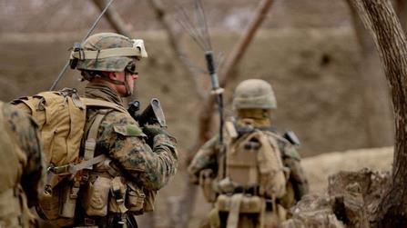 阿士兵打伤3美军 士兵在随后的交火中被打死