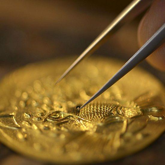 黄金首饰的炸珠工艺是什么