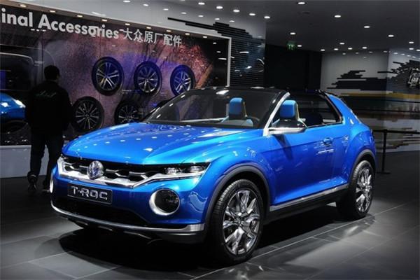 大众名车品牌推出T-Roc车型 2019年进军美国市场
