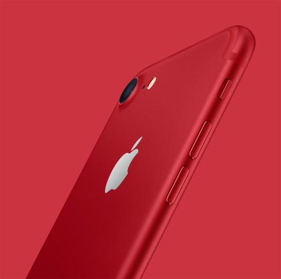 中国红版iPhone7来了 将在全球市场发售
