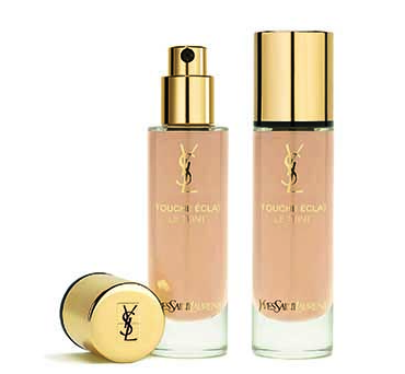 YSL美妆推出新一代超模粉底 从早到晚超模光感