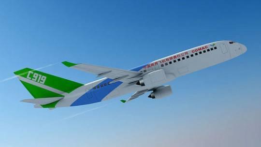 国产飞机C919首飞在即 万亿规模航空产业加速成长