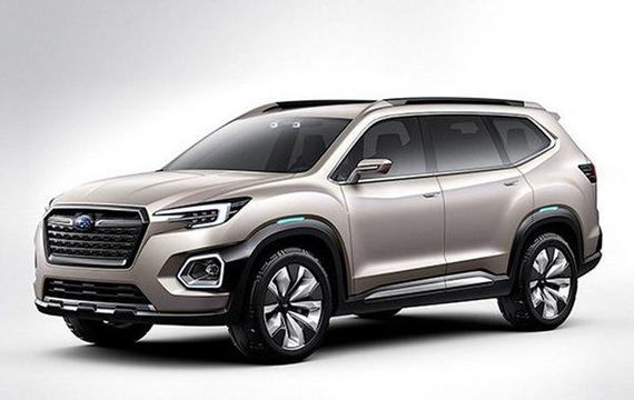 名车品牌斯巴鲁全新SUV车型于2018年率先在美国发布