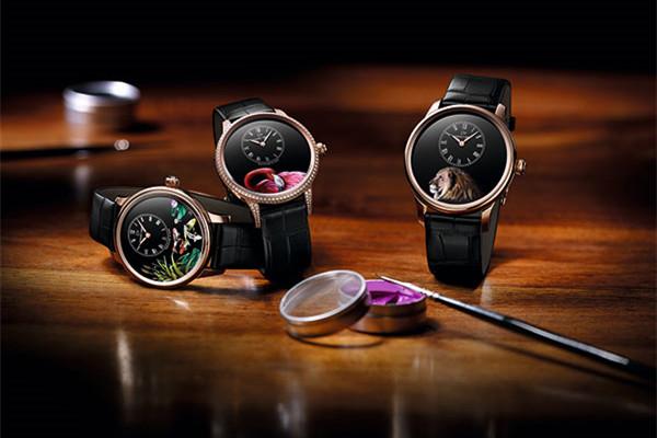 雅克德罗推出全新爱之蝴蝶自动玩偶腕表