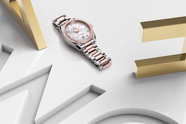 欧米茄推出全新海马系列Aqua Terra女士腕表