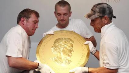 100公斤金币被偷 网友:只想知道怎么办到的