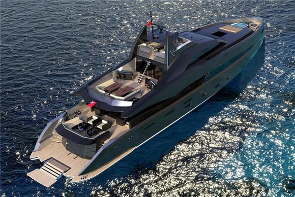 Icon公布全新46米Gotham游艇项目更多细节