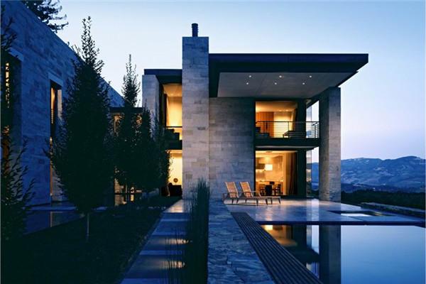 Sonoma葡萄园豪宅:每座建筑乎都是一个零散景观