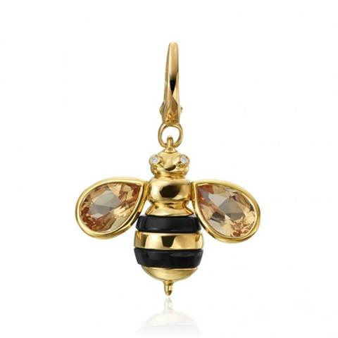 Gumuchian发布蜜蜂主题珠宝 栩栩如生惹人爱