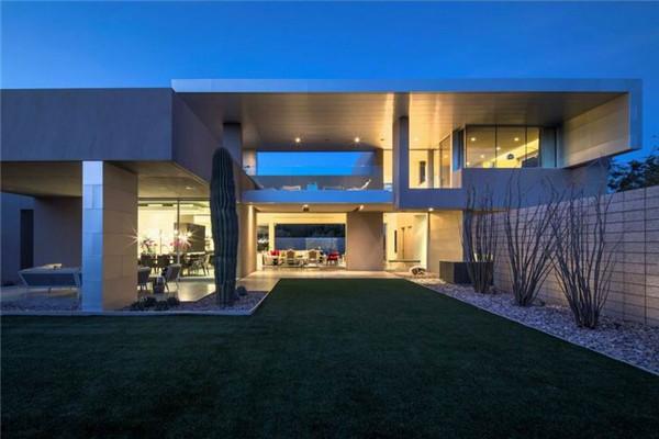 鸟巢豪宅:打造出时髦和优雅的复杂糅合