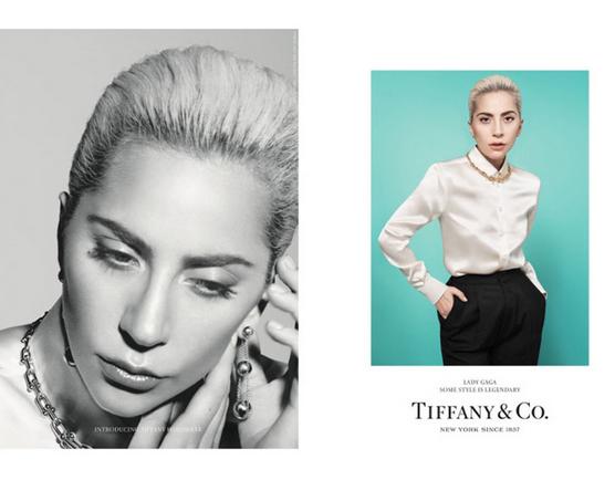 Lady Gaga与蒂芙尼合作拍摄广告片 新品4月28日销售