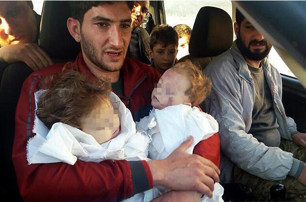 龙凤胎死于叙利亚毒气袭击