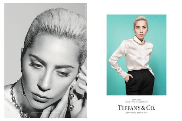 蒂芙尼携手Lady Gaga合作拍摄全新珠宝大片