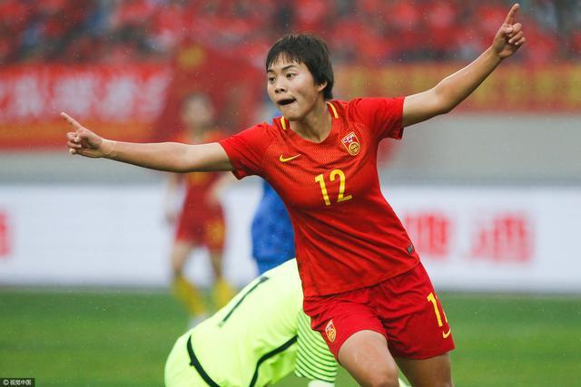 在一场国际足球友谊赛中 中国女足2-0战胜克罗地亚女足
