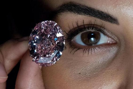 周大福7120万美元拍下世界最大粉钻