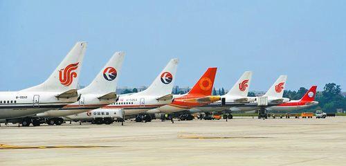中国航空公司飞机数快速增长 一改往日服务水平