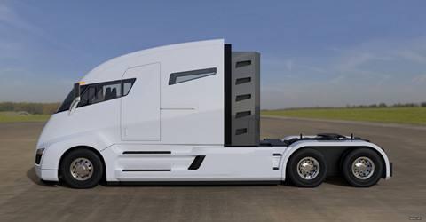 特斯拉电动卡车即将霸气问世 股价涨幅超3%