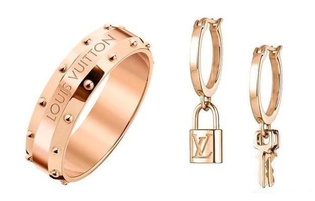 Louis Vuitton玫瑰金珠宝新作 再现温暖色调下的代表性设计