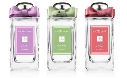 香水品牌JO MALONE推出三款特调芬香香水