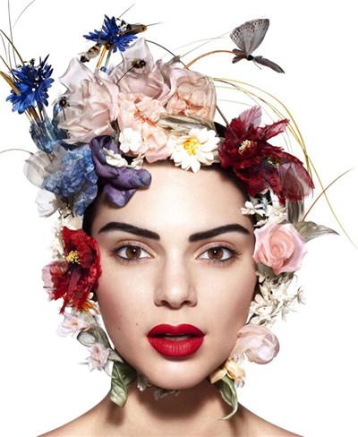 超模Kendall Jenner登上《Harper's Bazaar》杂志5月号