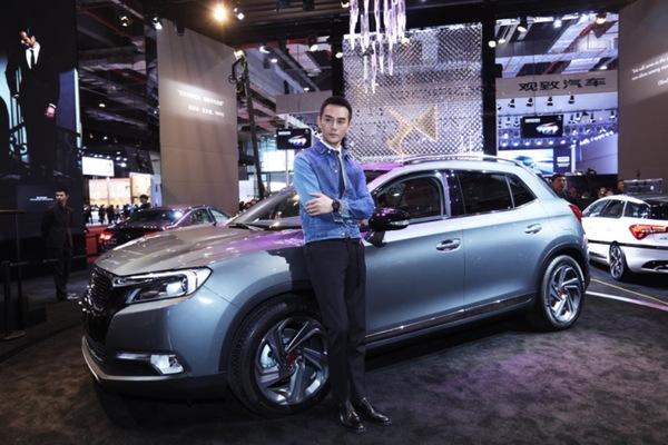 王凯代言DS品牌:推出DS限量版车型