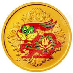 2011年辛卯生肖金币带着前所未有的喜庆气氛