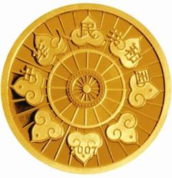 内蒙古自治区成立60周年纪念金币介绍