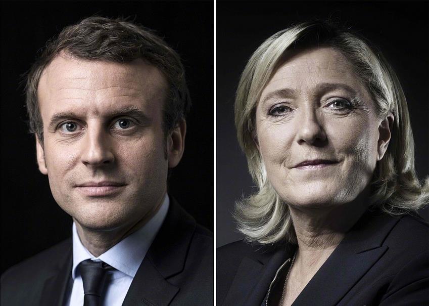 2017年法国大选结果出炉:股票k线股票K线战法做好抄底准备