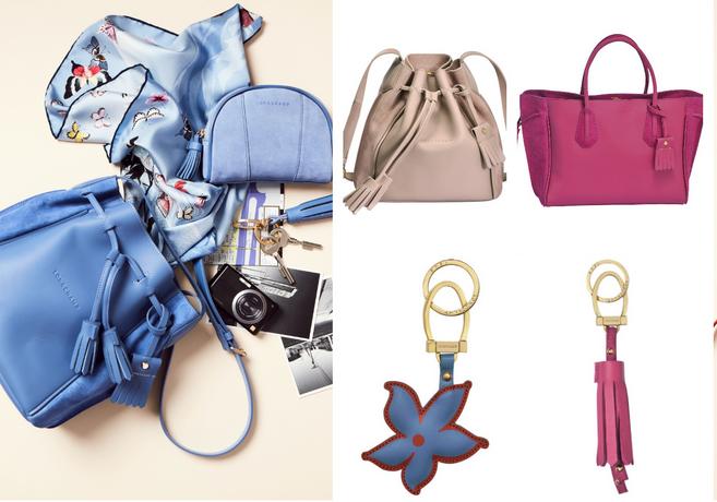Longchamp推出全新配色Penelope包包 低调奢华