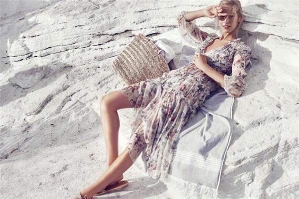 Zimmermann服装品牌释出2017夏季泳装系列广告大片
