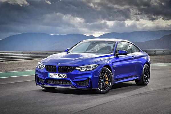 宝马推出全新M4 CS特别版车型 百公里加速仅需3.9秒