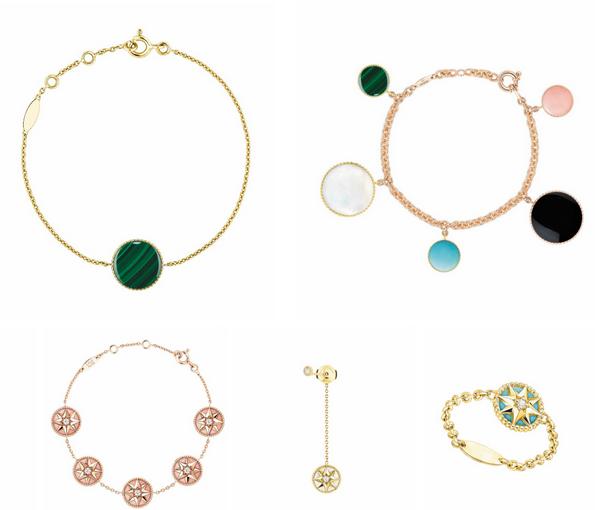 Dior推出Rose des Vents系列珠宝 于5月/10月推出
