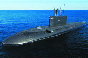 俄潜艇监视美韩军演 俄方回应:为了收集第三国家军演的信息