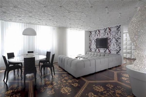 荷兰豪宅:将会颠覆你对室内装饰的看法