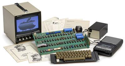 第一款苹果电脑将拍卖 会刷新电脑拍卖记录吗?