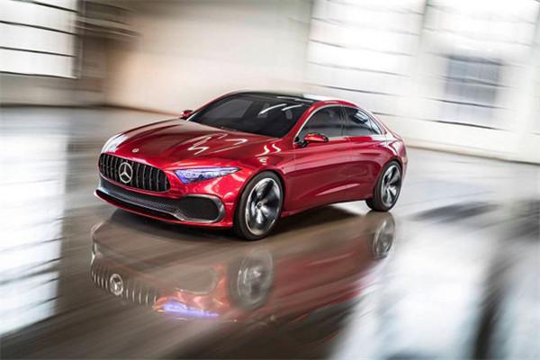 奔驰推出全新Concept A Sedan车型 预计2018年登场
