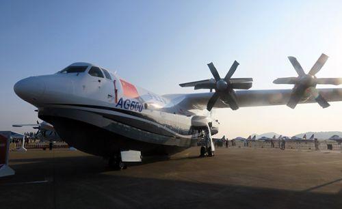 国产水陆两栖飞机AG600 拟在5月进行陆上首飞
