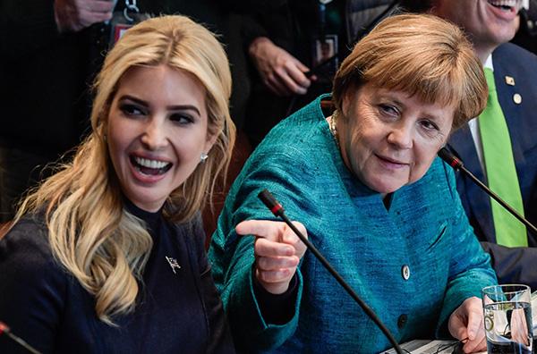 特朗普女儿访问德国 首次外访受到外界的关注