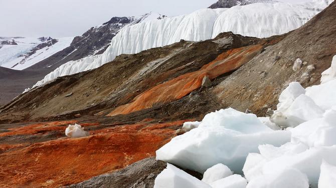 南极血瀑布揭开 一个多世纪的南极之谜被揭开