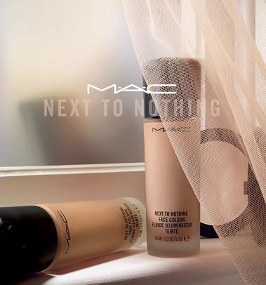 MAC全新天生美肌粉底液 打造完美妆容