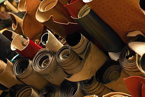 目前皮革行业污染企业数量有所下降