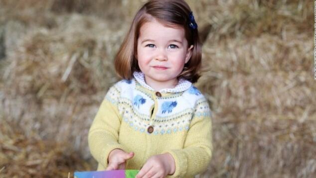 夏洛特公主迎来两岁生日 英国王室公开纪念美照