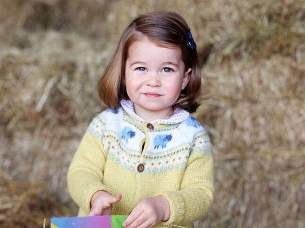 """凯特王妃晒小公主 称她是""""来自天堂的快乐"""""""
