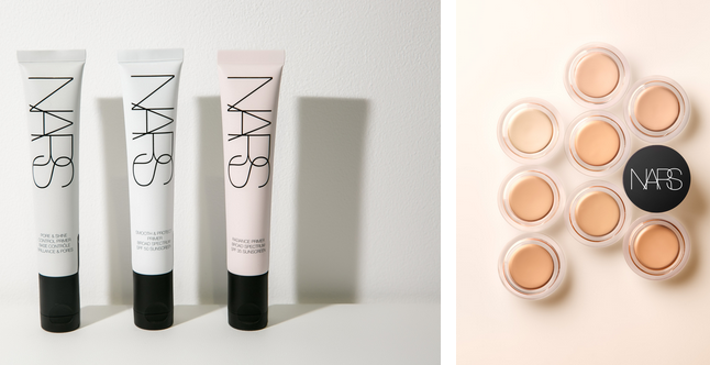 NARS化妆品品牌全面更新专业妆前遮瑕系列彩妆