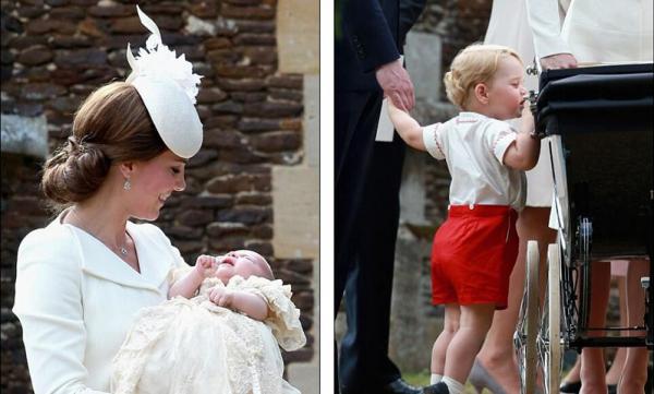 凯特王妃晒小公主 英国全国庆祝