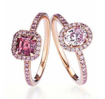 盘点珠宝王国里那些美得惊天动地的卡地亚彩钻戒指