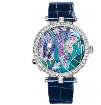 梵克雅宝推出全新三款灵动仙气女士腕表