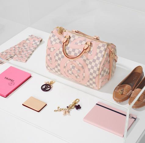 路易威登将推出全新夏季系列包包 清新粉红